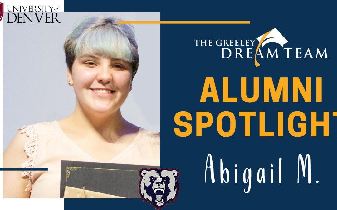 Alumni Spotlight: Abigail M.