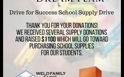 2017 School Supply Drive Success!