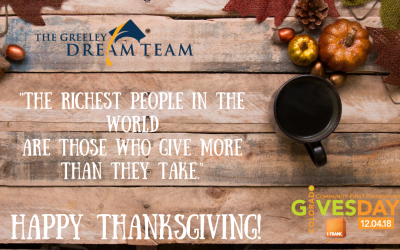 We Are Grateful for YOU!