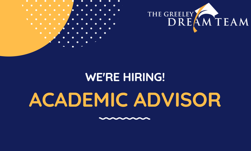 We are Hiring an Academic Advisor!