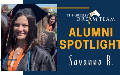Alumni Spotlight: Savanna B.