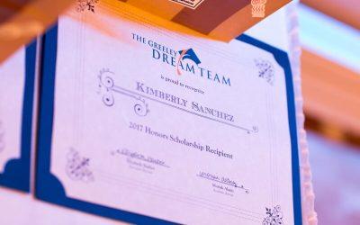 2016 Honors Scholarship Award Recipients