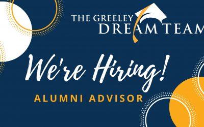 We are Hiring an Alumni Advisor!