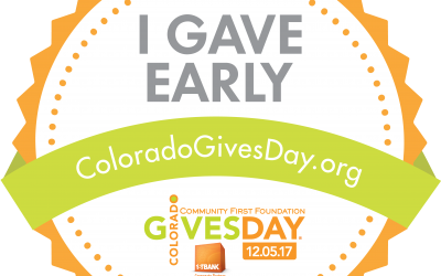 Get ready for Colorado Gives Day!