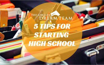 Tips for Starting High School