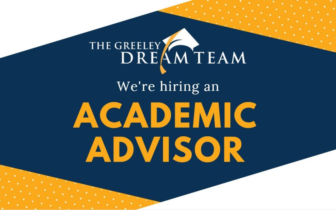We're Hiring an Academic Advisor!