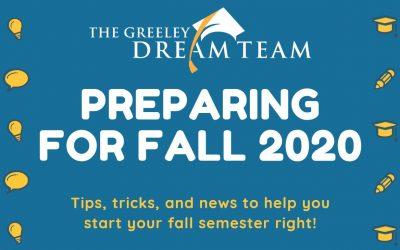 Preparing for Fall 2020