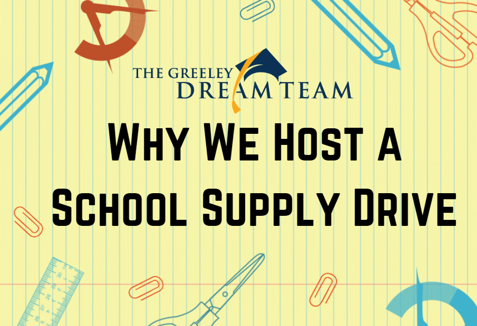 Why We Host a School Supply Drive