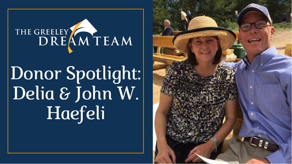 Donor Spotlight: Delia & John W. Haefeli