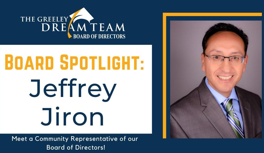 Board Spotlight: Jeffrey Jiron