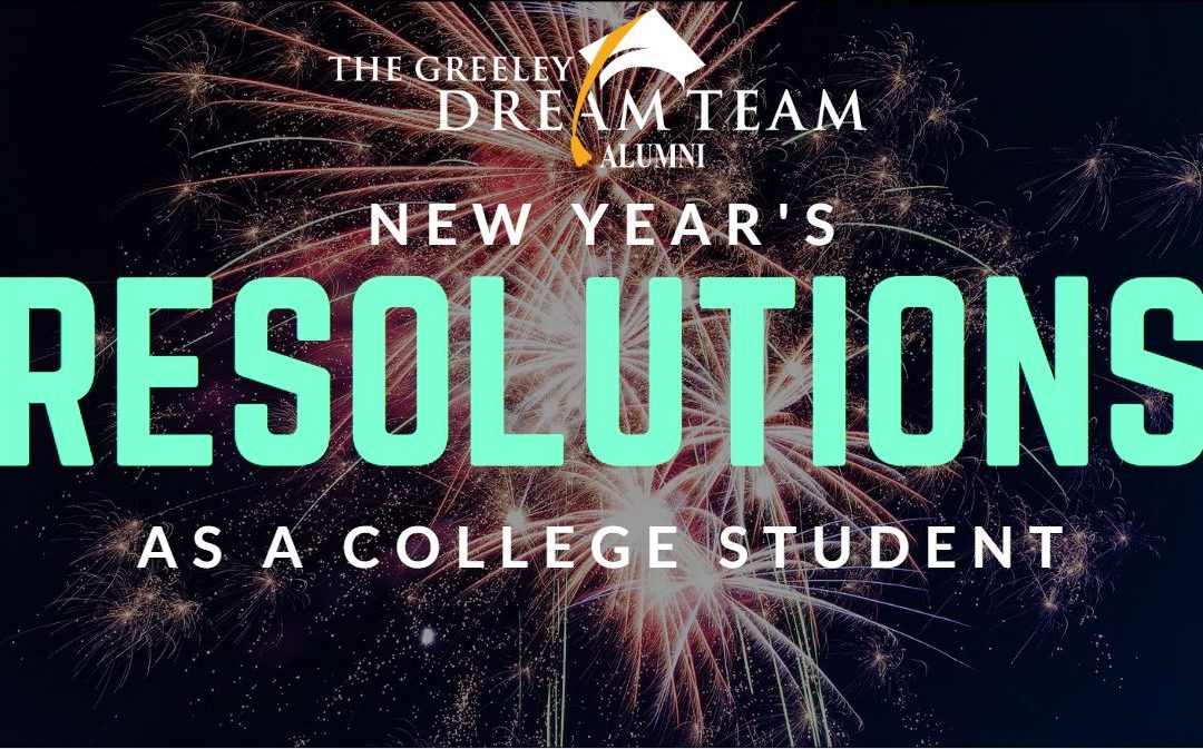 New Year's Resolutions as a College Student
