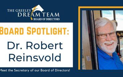 Board Spotlight: Dr. Robert Reinsvold