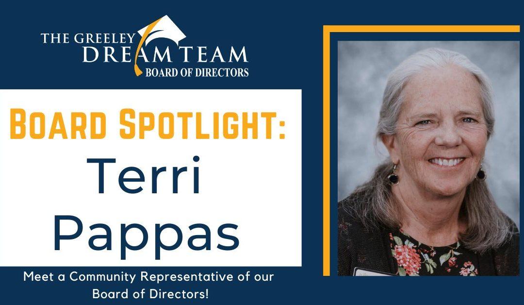 Board Spotlight: Terri Pappas
