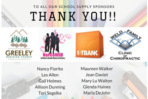 Drive for Success School Supply Drive
